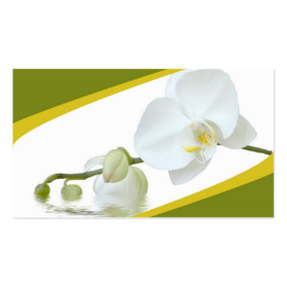Orchid Spa Business Card