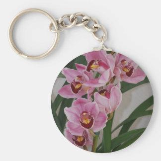 Orchid Spray Keychain