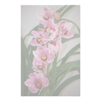 Orchid Spray Stationery