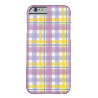 Orchid Summer Plaid iPhone cover