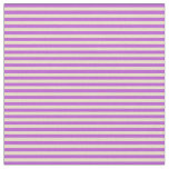 [ Thumbnail: Orchid & Tan Lined/Striped Pattern Fabric ]