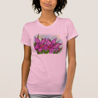 Orchid tee