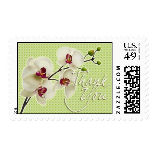 Orchid • Thank You Postage