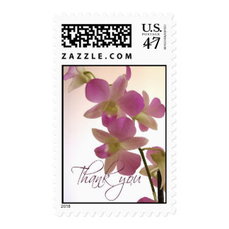 Orchid Thank You Postage