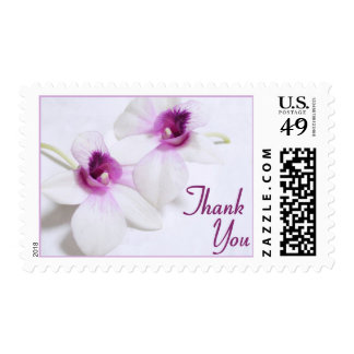 Orchid Thank You stamps