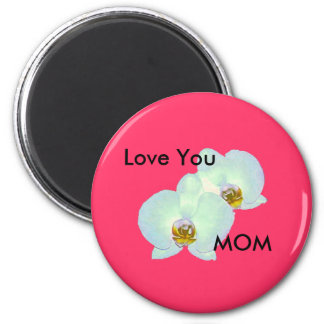 Orchid The MUSEUM Zazzle Transp Zur 2000JVN003 2 Inch Round Magnet