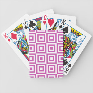 Orchid Tiles Bicycle Playing Cards