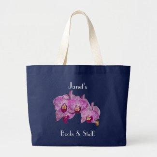 Orchid Tote Bag bag