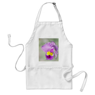 Orchid touched by God for Mom Adult Apron