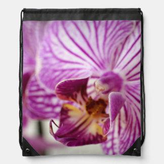 Orchid Trail Drawstring Bag