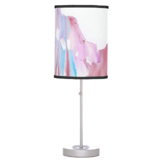 Orchid Watercolor Lamp