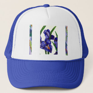 Orchid Watercolor Trucker Hat