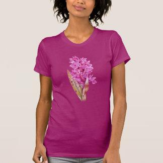 Orchid watercolour art pink purple t-shirt