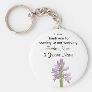 Orchid Wedding Souvenirs Keepsakes Giveaways Keychain
