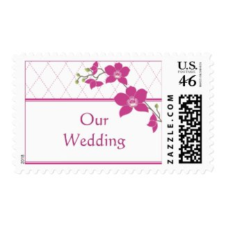 Orchid Wedding Stamps stamp
