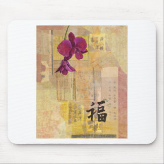 Orchid Wisdom Mouse Pad