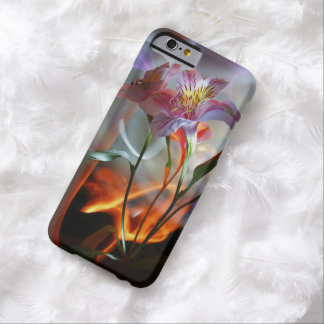 Orchid with Name Option Barely There iPhone 6 Case