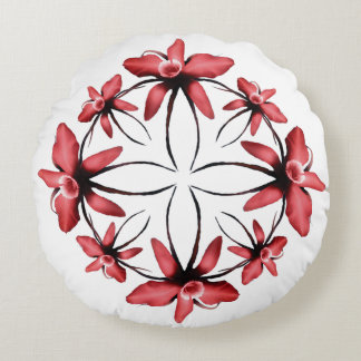 Orchidee Round Pillow