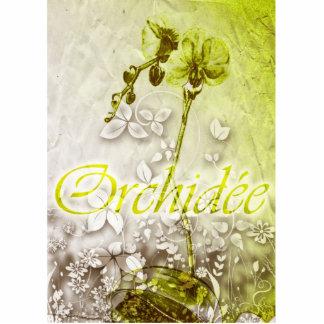 Orchidee Statuette