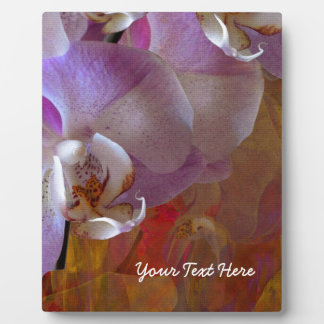 Orchidelia Gorgeous Orchids Abstract Plaques