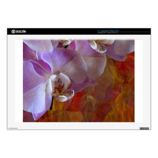 Orchidelia Gorgeous Orchids Abstract Laptop Skins