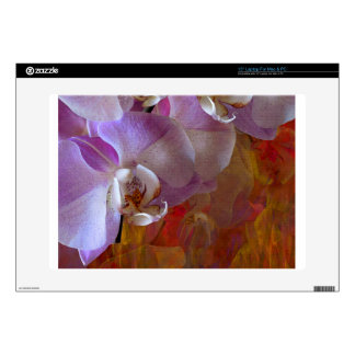 Orchidelia Gorgeous Orchids Abstract Laptop Skin