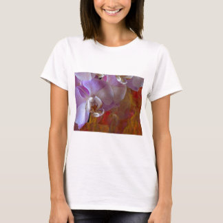 Orchidelia Gorgeous Orchids Abstract T-Shirt