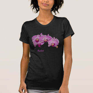 Orchids 1on black T-Shirt
