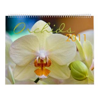 Orchids 2011 Calendar