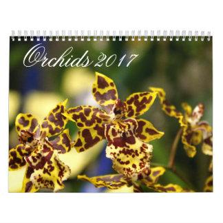 Orchids 2017 Calendar