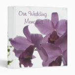 Orchids 2 / Wedding Memories Avery Binder Vinyl Binder