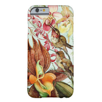 Orchids and Hummingbirds 1917 Barely There iPhone 6 Case