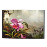 Orchids and Hummingbirds near a Mountain Lake iPad Air Cases