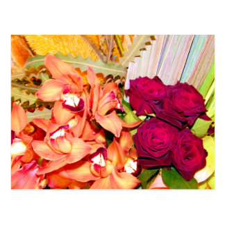 Orchids and Roses_ Postcard
