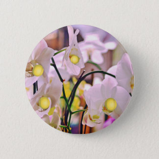 Orchids and tennis.jpg pinback button