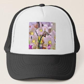 Orchids and tennis.jpg trucker hat