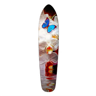 Orchids and the Butterfly Skateboard