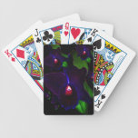 Orchids At Midnight Bicycle Card Deck