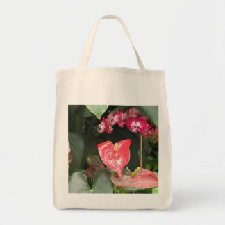 Orchids blooms tote bag