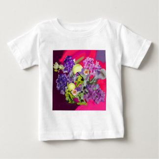 Orchids bouquet with tennis balls baby T-Shirt