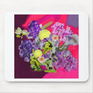 Orchids bouquet with tennis balls mouse pad