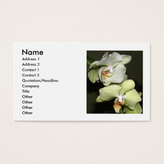 Orchids Business Card