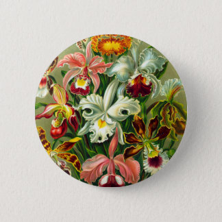 Orchids Button