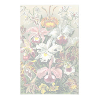 Orchids by Ernst Haeckel Stationery