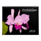 Orchids by Orchidelique Calendar