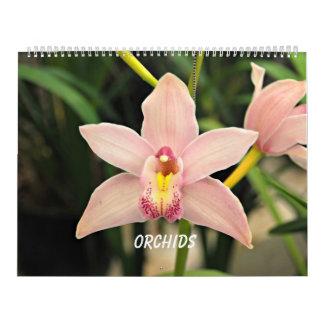 Orchids Calendar