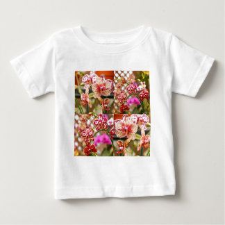 Orchids collage baby T-Shirt