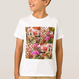 Orchids collage T-Shirt