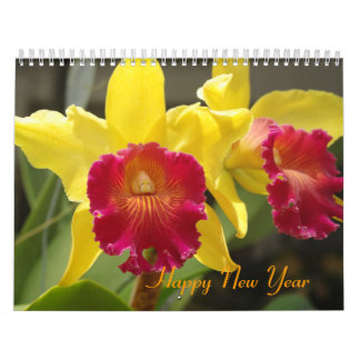 Orchids Collection Calendar
