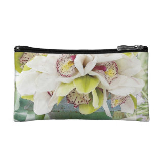 Orchids Cosmetic Bag